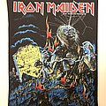 Iron Maiden - Patch - Vintage Iron Maiden Live after death BACKPATCH 1985 mint deadstock