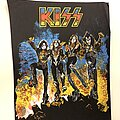 Kiss - Patch - Vintage Kiss Destroyer early 1980's Back Patch Deadstock unused (Bootleg??)