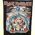Iron Maiden - Patch - vintage Iron Maiden Aces High BACKPATCH Deadstock mint condition