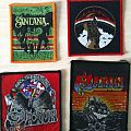 Patch - Patches Saxon, Rainbow, Santana