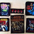 Slayer - Patch - More patches from Ozzy, Anthrax, Megadeth, Broken Bones, Slayer, Iron Maiden