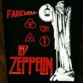 Patch - Led Zeppelin Farewell backpatch FOR SALE/TRADE