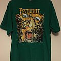Pestilence Consuming Impulse Green Shirt