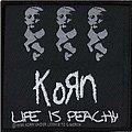 Korn - Patch - Korn Official 1996 Life is Peachy Woven Patch