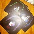 Kiss - Tape / Vinyl / CD / Recording etc - KISS Band Member Face Portrait Vinyls 3/4 Complete