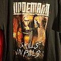 Rare Bootleg Lindemann double sided Shirt