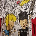 Vintage Beavis and Butthead Double Sided Bootleg Shirt single stitch