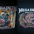TShirt or Longsleeve - Megadeth Tour 2007