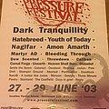 Pressure fest 2003 poster