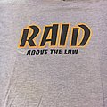 Raid above the law first press xxl TShirt or Longsleeve
