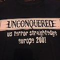 Unconquered tour 2001 TShirt or Longsleeve