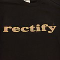 Rectify sxe TShirt or Longsleeve
