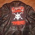 Battle Jacket - leather jacket + voivod backpatch