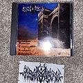 "Stargazer - Tape / Vinyl / CD / Recording etc - Invocation/Stargazer ""Harbringer/HASTUR"" split and handmade Invocation patch"