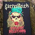 Sacred Reich - Patch - Sacred Reich - Violent Solutions backpatch