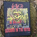 Slayer - Seasons in the Abyss backpatch