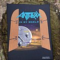 Anthrax - In My World backpatch