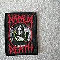 Vintage Napalm Death patch
