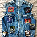 Overkill - Battle Jacket - Late 80's cut off.