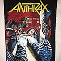 Anthrax - Patch - Anthrax Spreading the disease backpatch