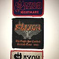 Saxon - Patch - Original Saxon patches, all early 80's and unused!
