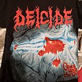 Deicide - TShirt or Longsleeve - Size M but could be a large on some people     once upon the cross