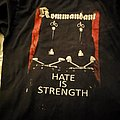 Kommandant - TShirt or Longsleeve - Offical merch  Hate is strength   Size M