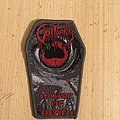 Obituary - Patch - Obituary Cause Of Death Coffin Shape Patch