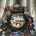 Iron Maiden - Battle Jacket - Vest Lay Out