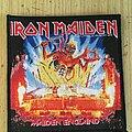 Iron Maiden - Patch - Iron Maiden Maiden England Patch