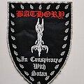 Bathory - Patch - Bathory In Conspiracy with Satan