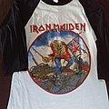 Iron maiden 1983 british metal onslaught tour TShirt or Longsleeve