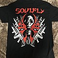 Soulfly - TShirt or Longsleeve - Gas Mask North American Tour 2019 Tee