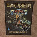 Iron Maiden - Patch - Somewhere on Tour 86/87