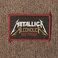Metallica - Patch - Alcoholica