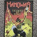 Manowar - Patch - Triumph of Steel