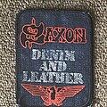 Saxon - Patch - Denim & Leather