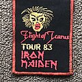 Iron Maiden - Patch - Flight of Icarus Tour '83