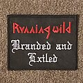 Running Wild - Patch - Branded and Exiled