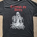 Triumph of Death 'Only Death is Real' official tour shirt, size XL