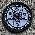 GG Allin War in my Head Patch
