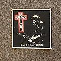 Black Sabbath - Patch - Euro Tour 1980