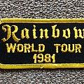 Rainbow World tour Patch