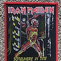 Iron Maiden Somewhere in Time Patch