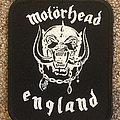 Motorhead England Patch