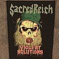 Sacred Reich - Patch - Violent Solutions