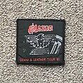 Saxon - Patch - Denim and Leather Tour '81