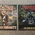 Hallows Eve - Tape / Vinyl / CD / Recording etc - Death & Insanity & Eyes of Horror