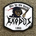 Exodus - Patch - Die By HIs Hand HMFC