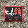 Michael Schenker Group - Patch - Built to Destroy Tour 1983